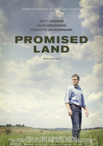 Latest placement – Promised Land trailer